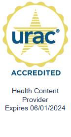 URAC Accredited Health Content Provider Expires 06/01/2021